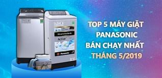Top 5 máy giặt Panasonic bán chạy nhất Điện máy XANH tháng 5/2019