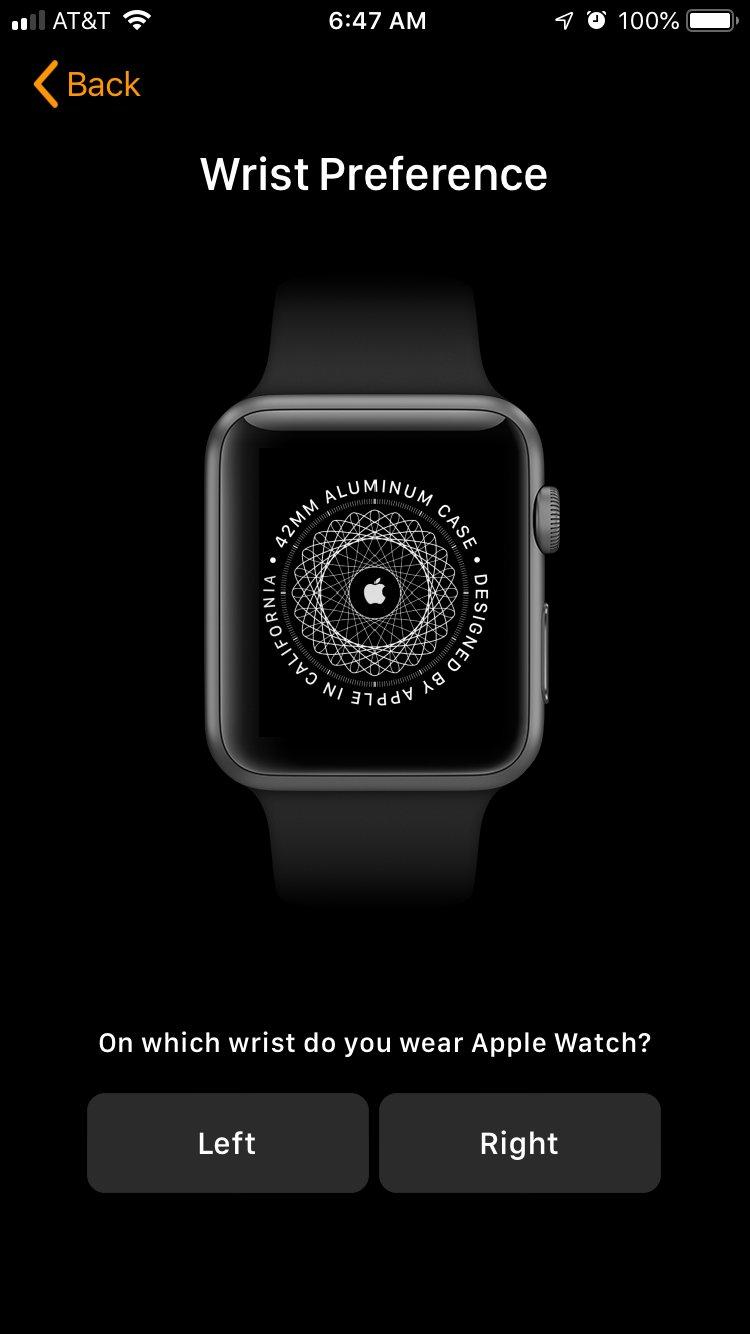 Chọn cổ tay đeo Apple Watch