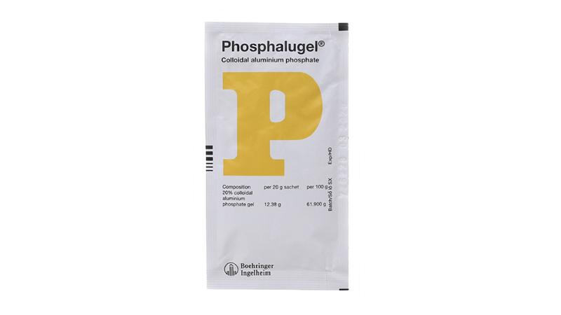 Thuốc điều trị giảm acid dạ dày Phosphalugel