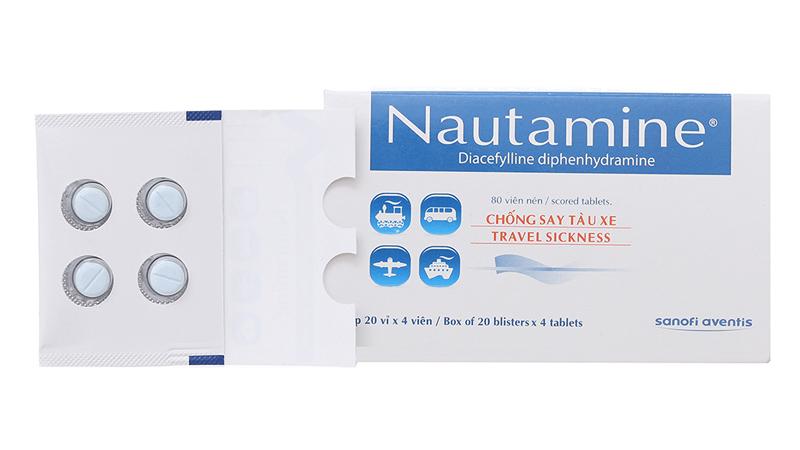 Thuốc chống say xe Nautamine