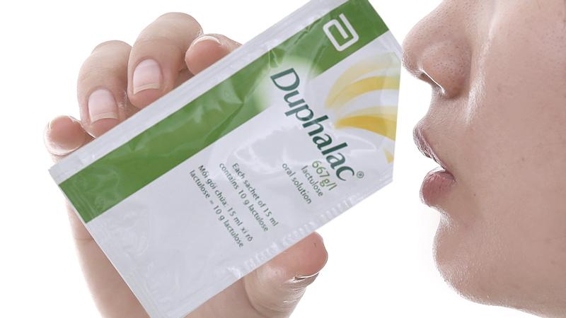 Thuốc trị táo bón, làm mềm phân Duphalac