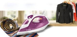 Hướng dẫn xả cặn bàn ủi hơi nước Philips đúng cách