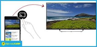 Cách chiếu màn hình điện thoại Android lên tivi Sony bằng Chromecast