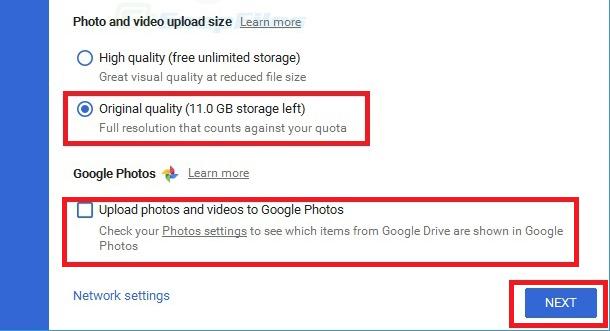 Cách Bật Bộ Nhớ không tính tiền Không Giới Hạn Trên Google Photos