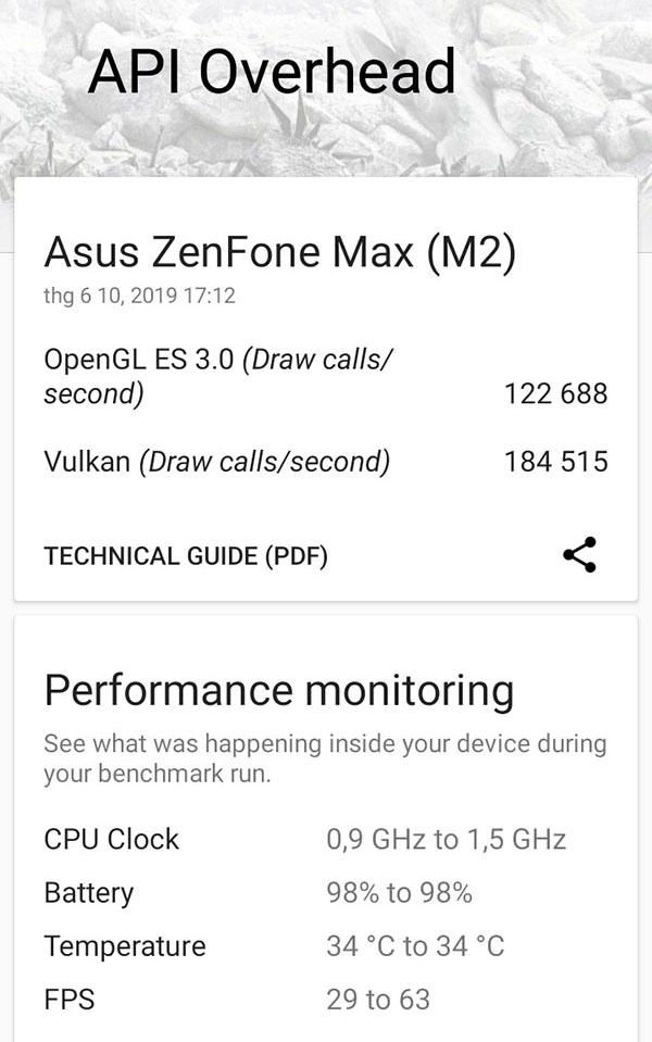 Đánh giá hiệu năng ASUS ZenFone Max M2: Hài lòng với chip Snapdragon 632 - ảnh 5