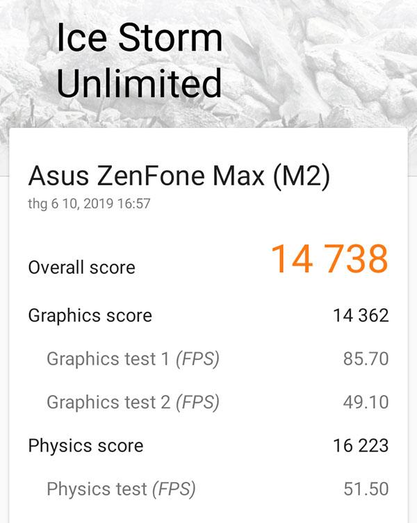 Đánh giá hiệu năng ASUS ZenFone Max M2: Hài lòng với chip Snapdragon 632 - ảnh 4