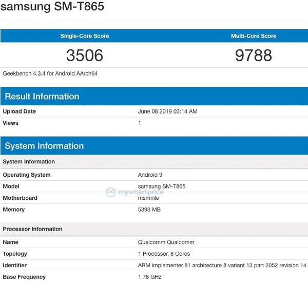 Galaxy Tab S5 sẽ có bút S Pen riêng, cấu hình khủng - ảnh 2
