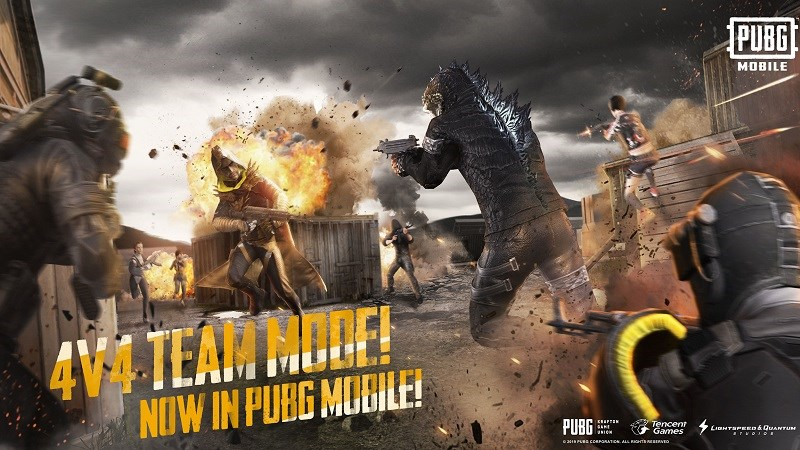 PUBG Mobile được cập nhật chế độ chiến đấu 4v4 mới