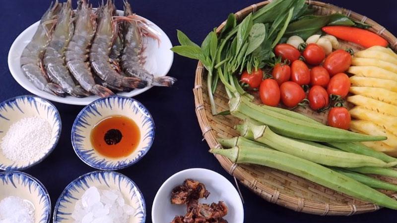 Tiết lộ cách nấu canh chua tôm phong cách Nam Bộ ngon tuyệt