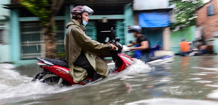 Những con đường hay ngập vào mùa mưa ở thành phố Hồ Chí Minh