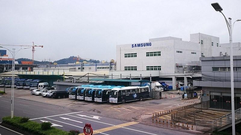 Samsung Huệ Châu bắt đầu đi vào vào hoạt động sản xuất từ năm 2003