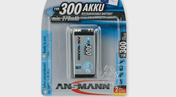 Pin 300 mAh