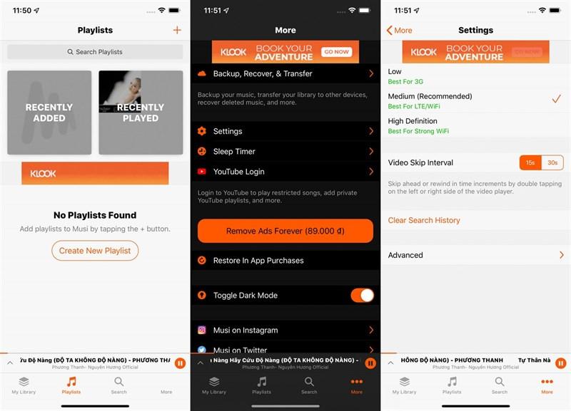 Tuyệt chiêu nghe nhạc trên Youtube khi tắt màn hình cho iPhone cực dễ