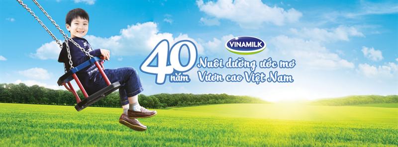 Vinamilk với mục tiêu cải thiện chiều cao Việt