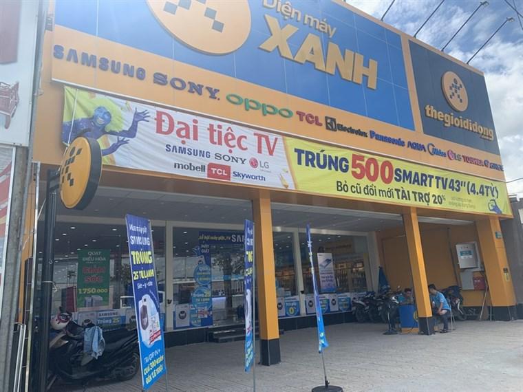 Siêu thị điện máy xanh tại 110 - 110B Hà Duy Phiên, Xã Bình Mỹ, Huyện Củ Chi, TP.Hồ Chí Minh