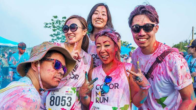 đường chạy color me run
