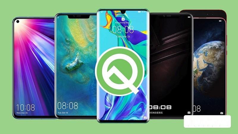 Huawei hứa hẹn cập nhật Android Q cho 14 smartphone