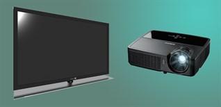 Chọn mua màn hình xem phim gia đình, nên chọn máy chiếu hay tivi?