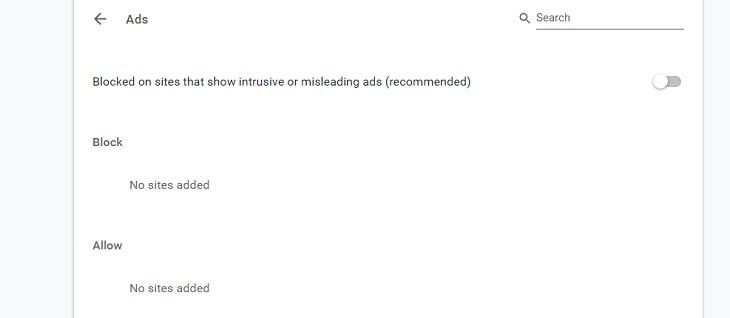 Tắt quảng cáo trên trình duyệt Chrome