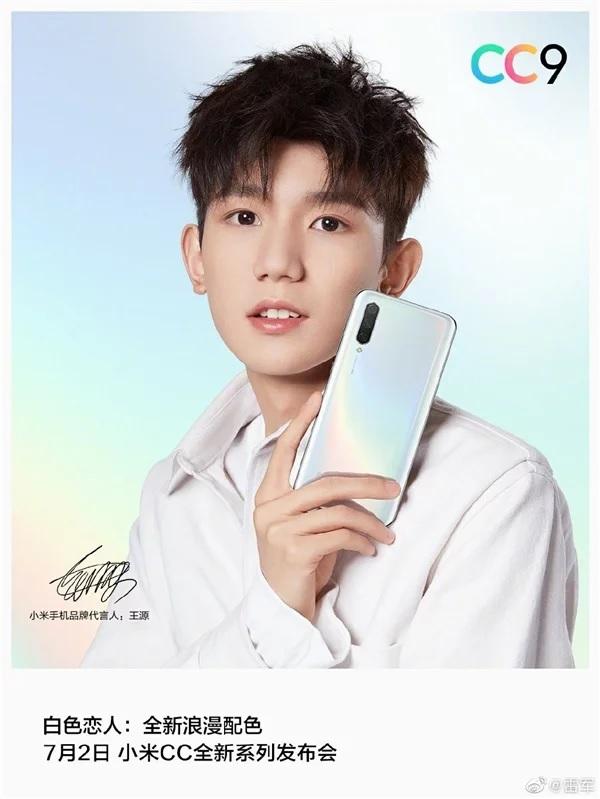 Xiaomi Mi CC9 chính hãng màu trắng lộ ảnh báo chí đẹp mắt - 267249