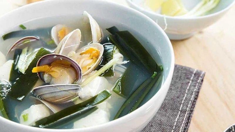 Cách làm canh rong biển nấu ngao