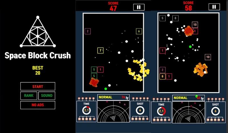 Space Block Crush (NoADs)
