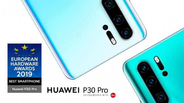 Huawei P30 Pro đã nhận được danh hiệu Smartphone tốt nhất từ Giải thưởng Phần cứng châu Âu