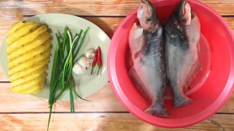 Nguyên liệu làm cá hú kho thơm