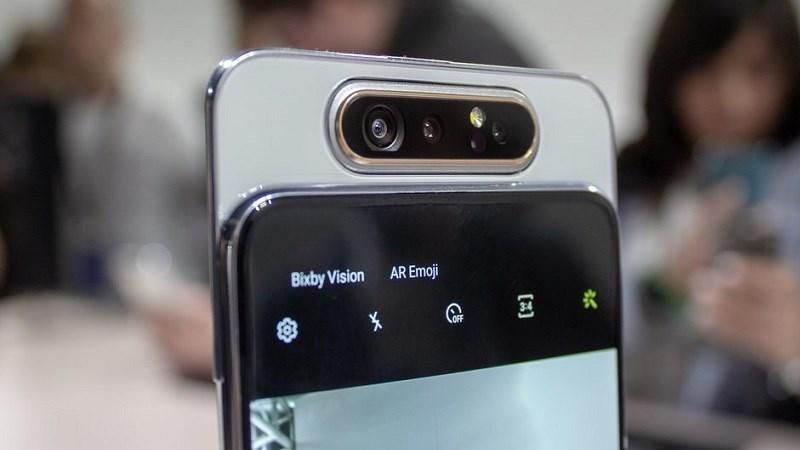 Galaxy A90 sẽ không có thiết kế camera trượt xoay như Galaxy A80