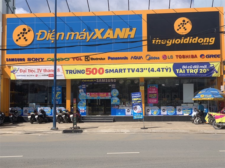Siêu thị điện máy xanh tại A4/4 Trần Văn Giàu, Ấp 1, Xã Lê Minh Xuân, Huyện Bình Chánh, TP. Hồ Chí Minh