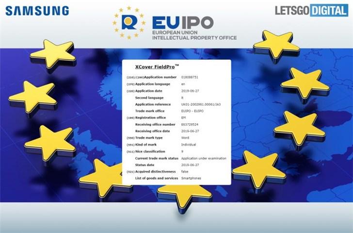 Tên thương hiệu Galaxy Xcover FieldPro được EUIPO phê duyệt