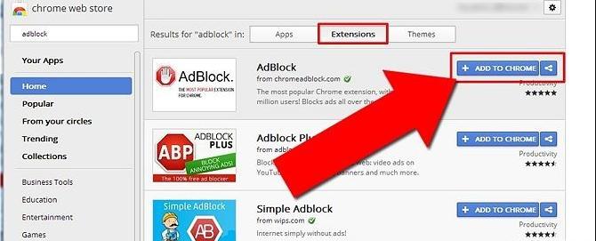 Chặn quảng cáo YouTube trên Chrome