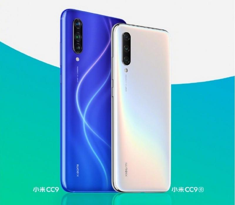 Xiaomi tung hình ảnh chính thức của Mi CC9 và Mi CC9e
