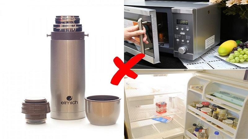 Cách sử dụng và bảo quản bình giữ nhiệt đúng cách