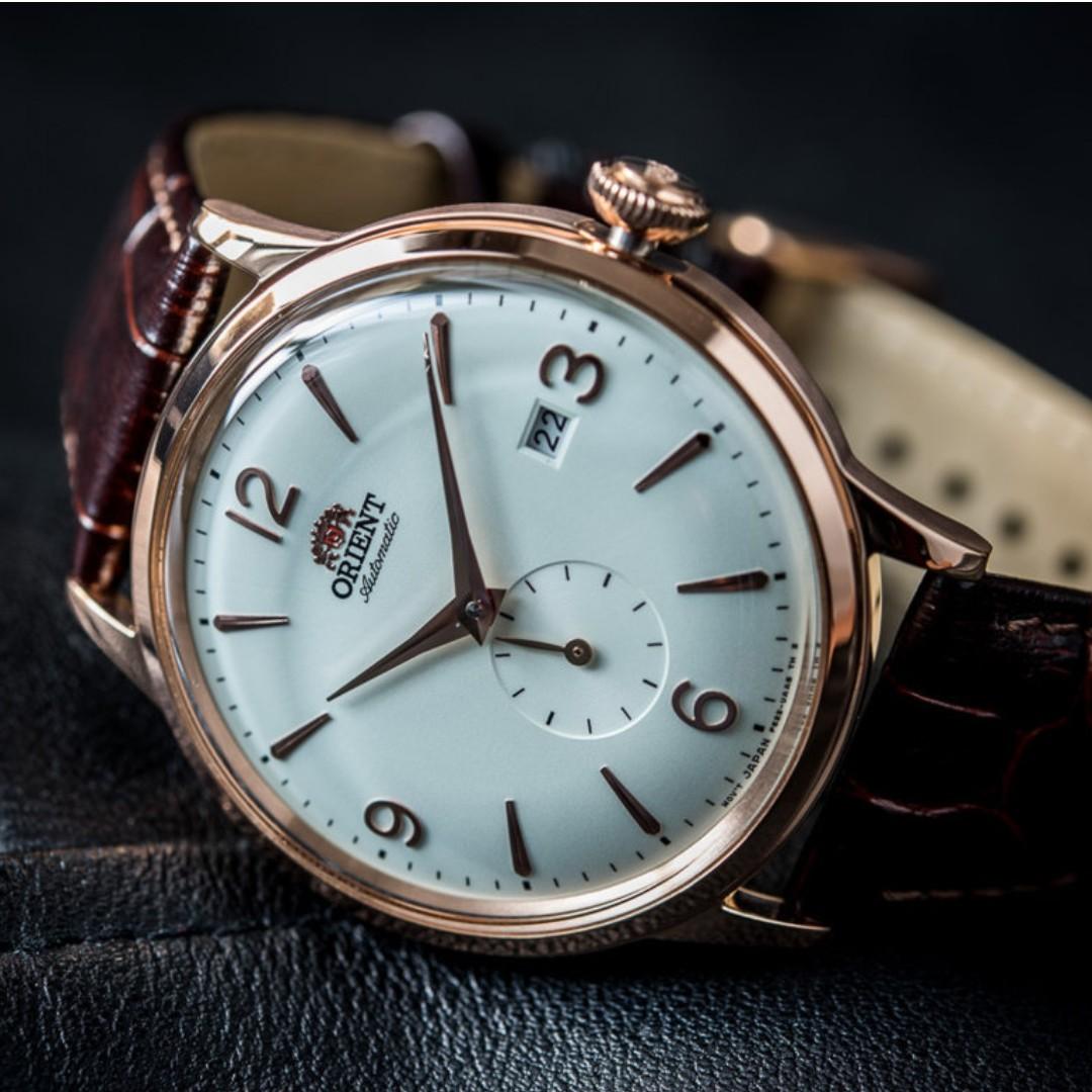 Những chiếc đồng hồ Orient Classic mang hơi hướng cổ điển và lịch lãm