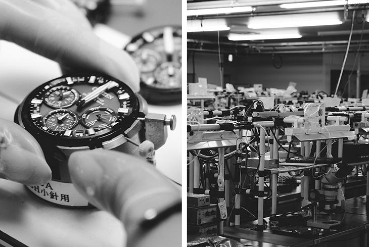 Bên trong xưởng gia công đồng hồ Citizen ở Trung Quốc