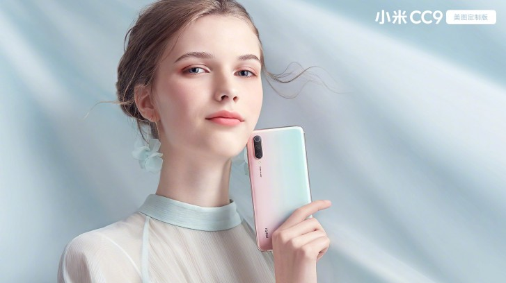 Xiaomi Mi CC9 Meitu Custom Edition màu trắng ngọc trai đặc biệt