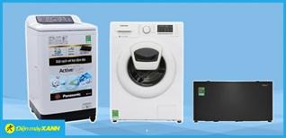 Giới thiệu một số kiểu máy giặt phổ biến hiện tại trên thị trường