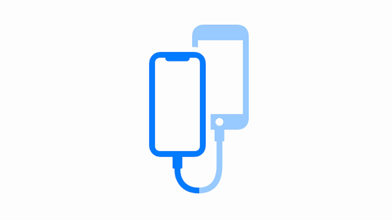 truyền dữ liệu iphone