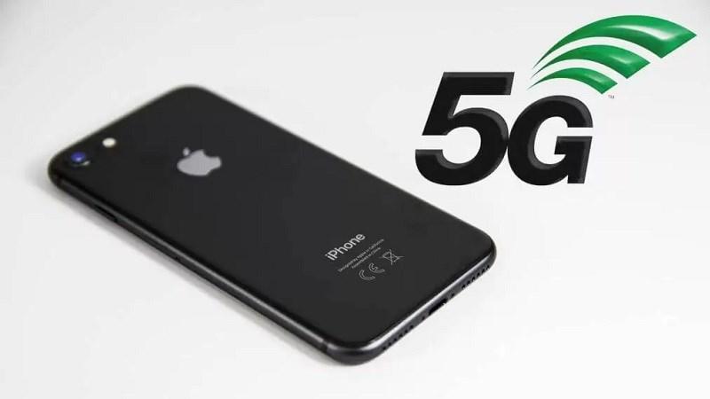Nhiều người dùng iPhone khẳng định máy của họ có kết nối 5G