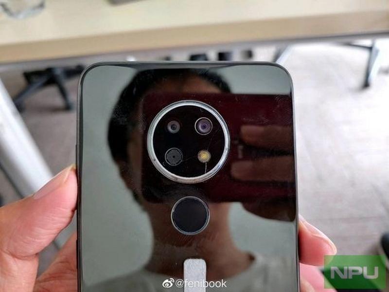Đây có thể là Nokia 5.2 hoặc Nokia 6.2 với 3 camera sau, chip Snapdragon 660