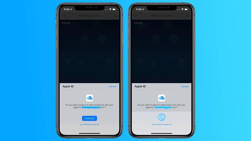 iCloud bản web sẽ sớm hỗ trợ đăng nhập bằng Face ID và Touch ID
