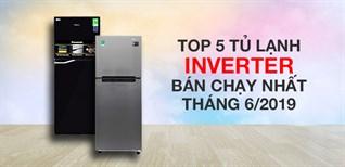 Top 5 tủ lạnh Inverter bán chạy nhất Điện máy XANH tháng 6/2019