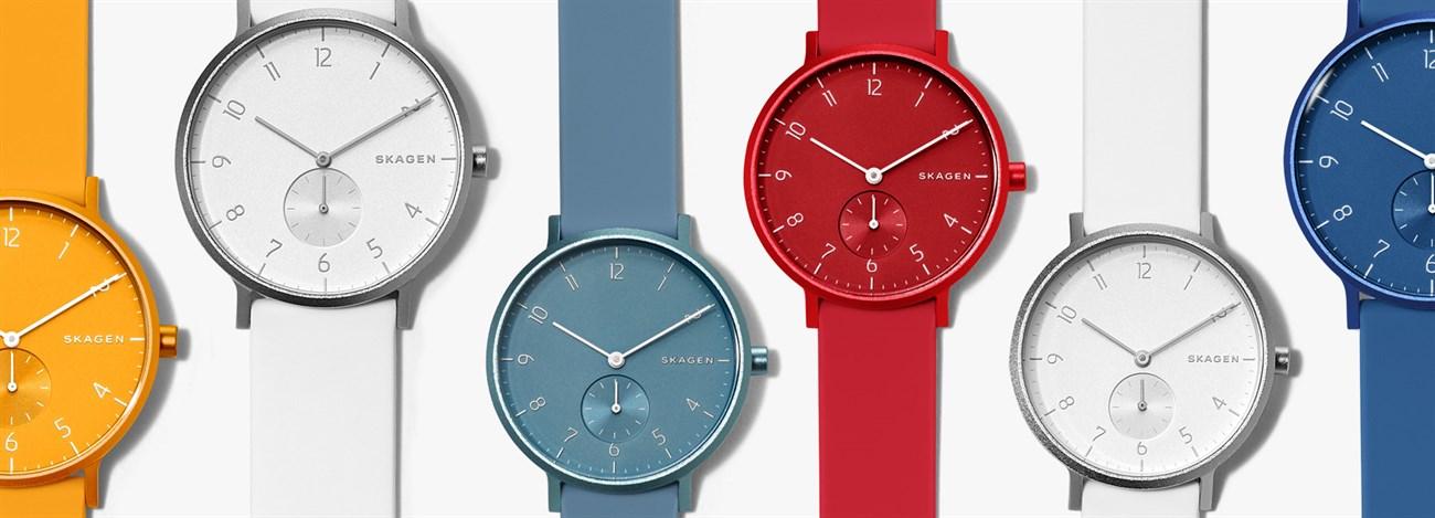 Những chiếc đồng hồ Sakgen đầy màu sắc