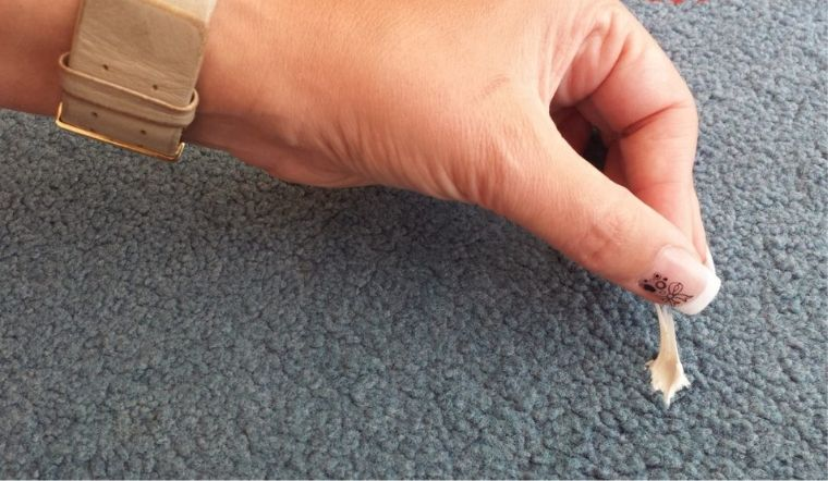 Cách tẩy sạch kẹo cao su trên sàn nhà nhanh chóng