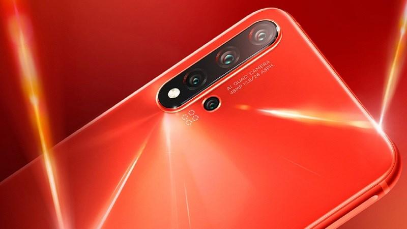 Smartphone Huawei mới được chứng nhận với 4 camera, pin 3.900 mAh