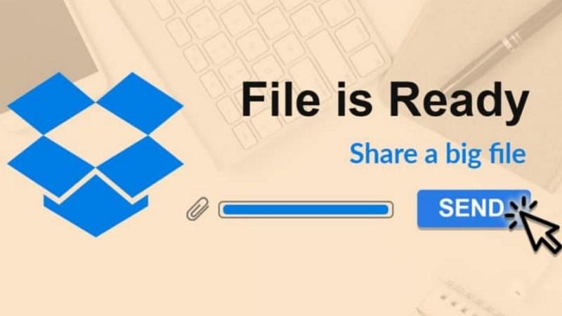Dropbox Transfer cho phép bạn gửi tối đa 100 GB tệp cùng một lúc