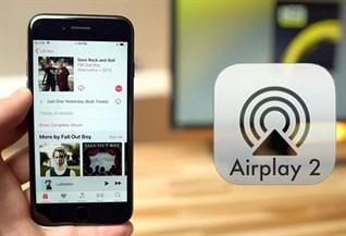 Cách chiếu màn hình iPhone lên tivi Samsung bằng AirPlay2