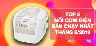 Top 5 nồi cơm điện bán chạy nhất Điện máy XANH 06/2019