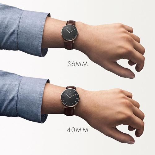 2 loại size trên cùng một dòng đồng hồ